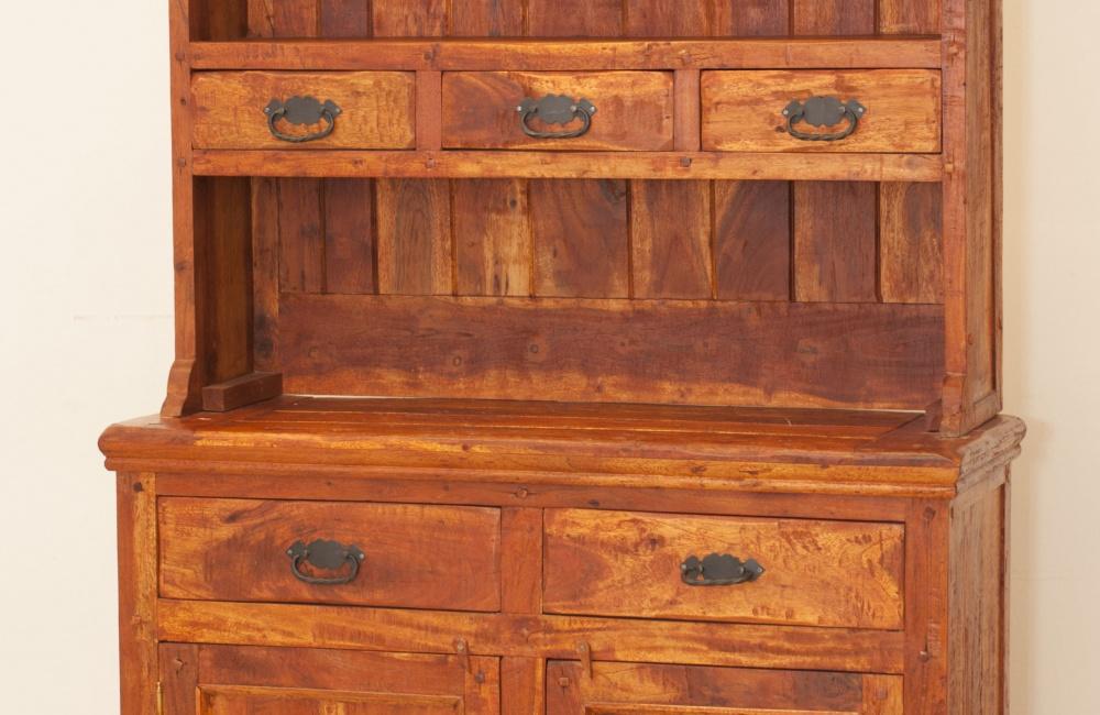 Credenza Con Alzata : Credenza con alzata rustico casa del bambù