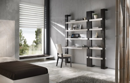Libreria Light piano scrivania